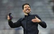 Atletico Madrid chốt tương lai Diego Simeone