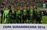 Top 10 đội bóng hay nhất năm 2016 (Phần 1): Bi kịch Chapecoense