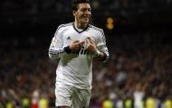 Mesut Oezil chơi rất ấn tượng tại Real Madrid