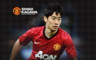 Shinji Kagawa khi còn khoác áo Man Utd