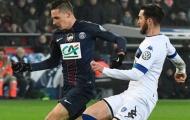 Draxler lốp bóng đẹp mắt, PSG hủy diệt Bastia
