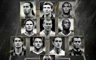 ĐHTB của FIFA 11 năm trước: Đầy rẫy huyền thoại!