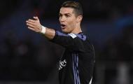 Zidane tiếp tục cho phép Ronaldo nghỉ ngơi