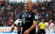 CHÍNH THỨC: Robben ở lại Bayern hết mùa sau