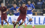 03h00 ngày 20/1, AS Roma vs Sampdoria: Sói và mồi ngon