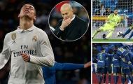 Chùm ảnh: Trận thua thứ 2 liên tiếp của Real Madrid