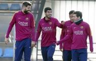 Neymar và Suarez song kiếm 'hạ' Pique