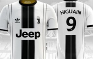 Chùm ảnh: Áo đấu với logo 'thảm họa' của Juventus đẹp không tưởng