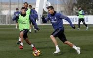 Ronaldo chăm chỉ tập luyện để giải hạn đầu năm 2017