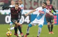 Chơi cực hay, nhưng Milan vẫn 'trắng tay' trước Napoli