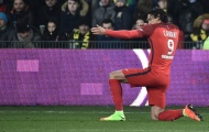 Chùm ảnh: Cavani lập cú đúp, PSG tiếp tục bám đuổi Nice, Monaco