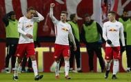 Chùm ảnh: Leipzig đè bẹp Frankfurt, viết tiếp giấc mơ ở Bundesliga