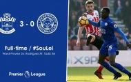 Chùm ảnh: Thua thảm Southampton, Leicester City tiến gần vực thẳm