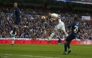 Real Madrid 2 - 1 Malaga (vòng 18 La Liga)