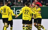 Rơi vào thế 10 chống 11, Werder Bremen chịu thua sát nút trước Dortmund
