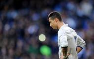 Ronaldo tiếp tục bị la ó, Zidane lo lắng
