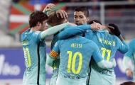 Chùm ảnh: Chiến thắng hủy diệt của Barca ngay trên sân của Eibar