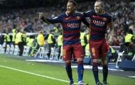 'O bế' Coutinho, Neymar khiến Iniesta nóng mặt?