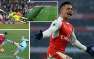 Quả phạt đền phút 90+8 giúp Arsenal thoát hiểm trước Burnley
