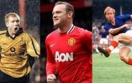 Rooney và những chân sút vĩ đại nhất lịch sử MU