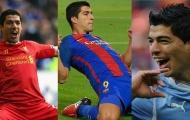 Những cột mốc khó quên trong sự nghiệp của Luis Suarez