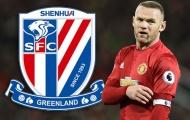 Kết quả chính thức vụ Rooney sang Thượng Hải