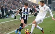 Bị Udinese đả bại, AC Milan bật khỏi top 6