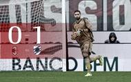 Chùm ảnh: Thua đau Sampdoria, AC Milan rơi vào khủng hoảng