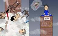 Biếm họa bóng đá tuần qua