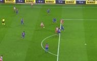 Trọng tài 'cướp trắng' một bàn thắng của Atletico trước Barcelona