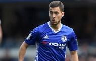 Hazard chỉ về nhì ở giải thưởng Cầu thủ Bỉ xuất sắc nhất