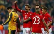 Điểm tin sáng 16/02: Bayern thảm sát Arsenal; Ronaldo phá kỉ lục; M.U mua tiền đạo 100 triệu