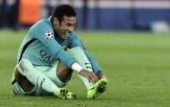 Tình huống ăn vạ cực hài của Neymar ở trận gặp PSG