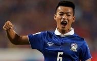 Ngôi sao tuyển Thái Lan nghỉ dài hạn vì vỡ mắt cá chân