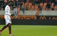 Balotelli nhận thẻ đỏ thứ 3 ở Ligue 1