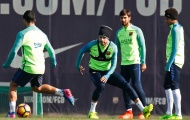 Sự nặng nề đã vơi đi trên sân tập của Barcelona