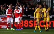 Walcott lập cột mốc đáng nhớ sau trận thắng Sutton