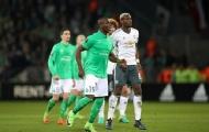 Mkhitaryan nổ súng, Quỷ đỏ nhẹ nhàng vượt ải St Etienne