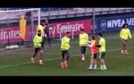 Xem Casemiro xỏ háng Cristiano Ronaldo