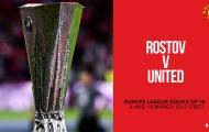 Manchester United 'khóc ròng' sau bốc thăm Europa League