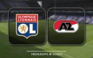 Olympique lyonnais vs Alkmaar (lượt về vòng 32 đội Europa League)
