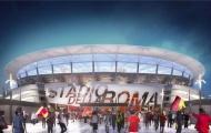 Chùm ảnh: Phát họa sân vận động mới của AS Roma
