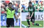 Chùm ảnh: Sassuolo phẫn nộ khi trọng tài đứng về phía Milan