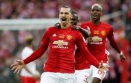 Ibrahimovic rực sáng, Man Utd vã mồ hôi chinh phục danh hiệu đầu tiên