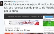 Pique tiếp tục 'đá xoáy' trọng tài La Liga