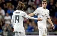 Luka Modric - Toni Kroos: Cặp đôi hoàn hảo của đội bóng Hoàng gia