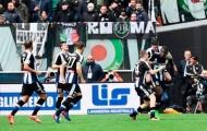 Chùm ảnh: Udinese 'biến hình', Juventus suýt chết