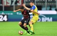 Đá hỏng pen, nhưng Bacca vẫn lập công đầu giúp Milan hạ gục Chievo