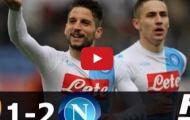 Roma 1-2 Napoli (vòng 27 Serie A)