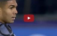 Màn trình diễn của Casemiro vs Napoli